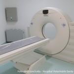 Sala de tomografia computadorizada